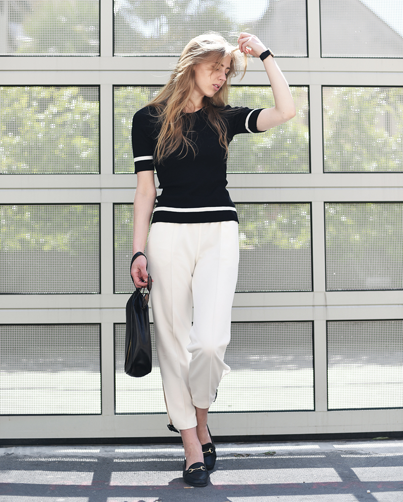 ivo blog --- lindex - diy trousers - minimal look - 1