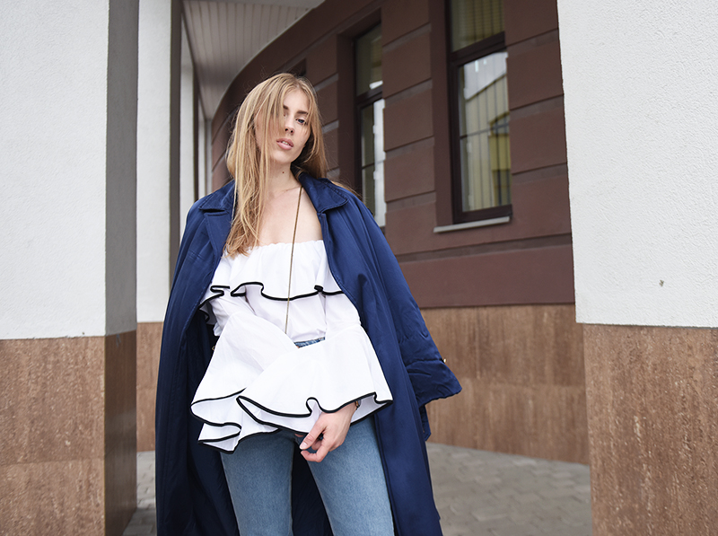 ivo blog --- lindex denim-zara blouse-vintage bag-2