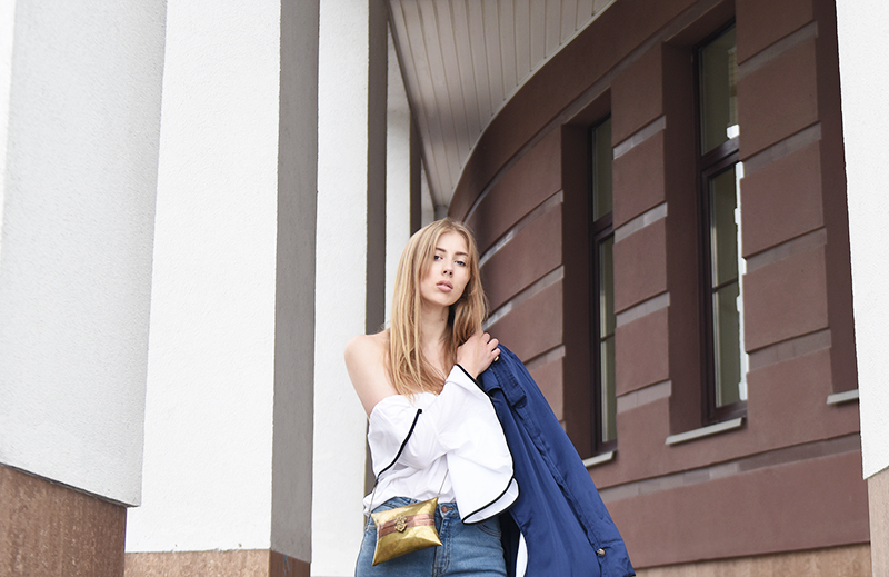ivo blog --- lindex denim-zara blouse-vintage bag-4
