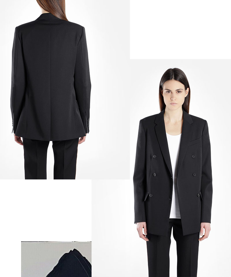 IVOBLOG --- black blazer - basic series 04