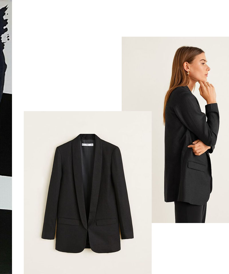 IVOBLOG --- black blazer - basic series 08