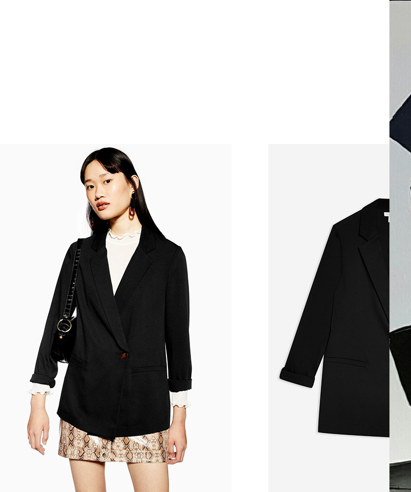 IVOBLOG --- black blazer - basic series 12