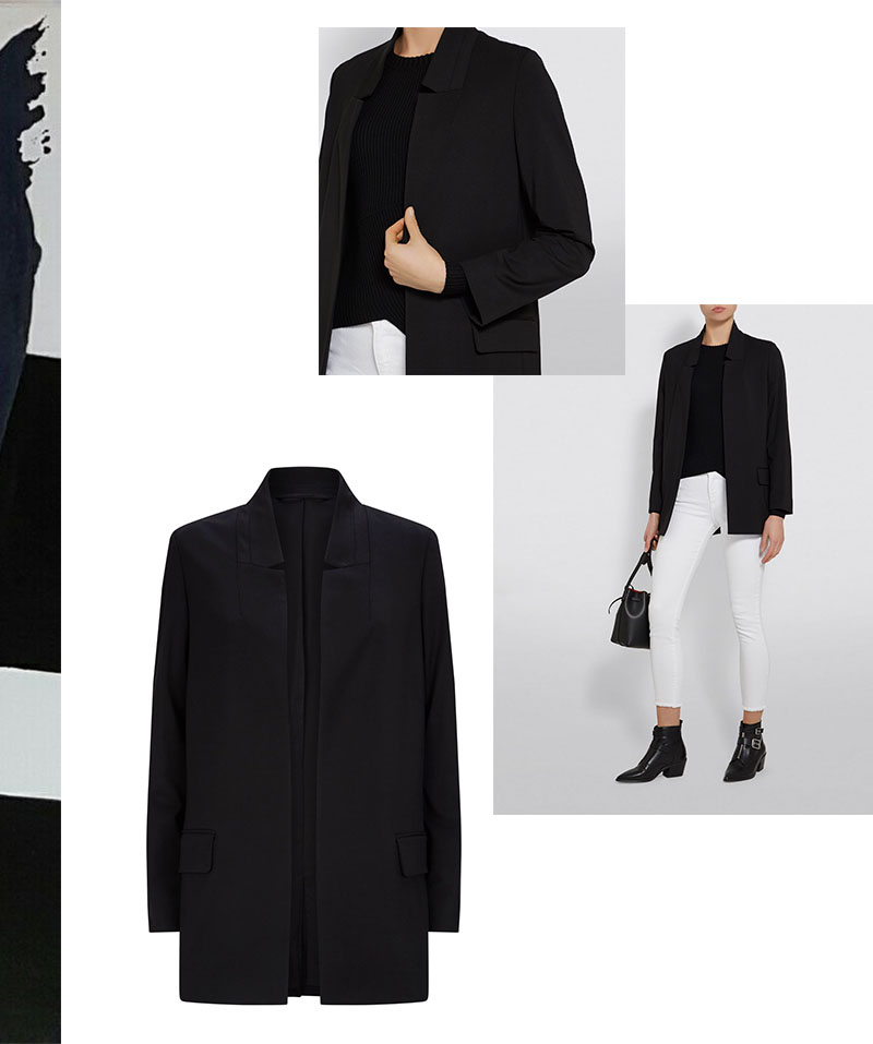 IVOBLOG --- black blazer - basic series