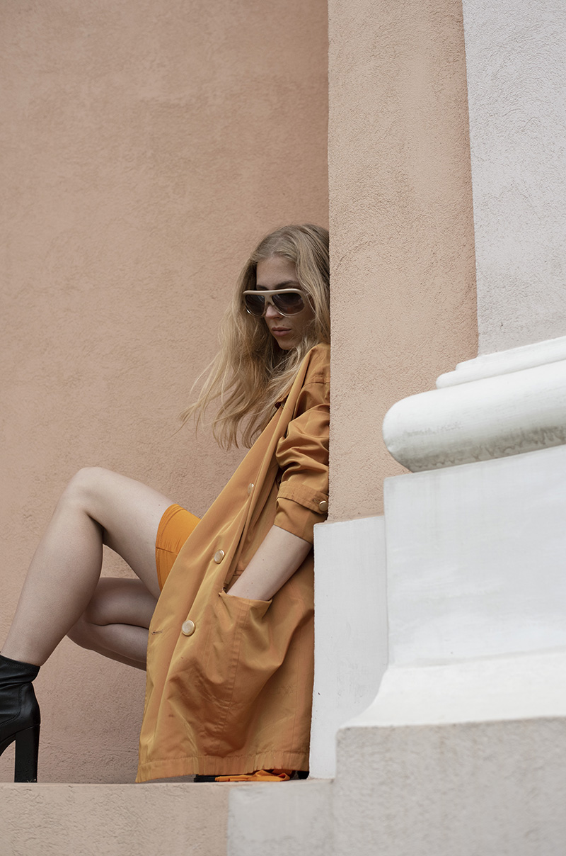 ivoblog -- orange tones-ootd 3
