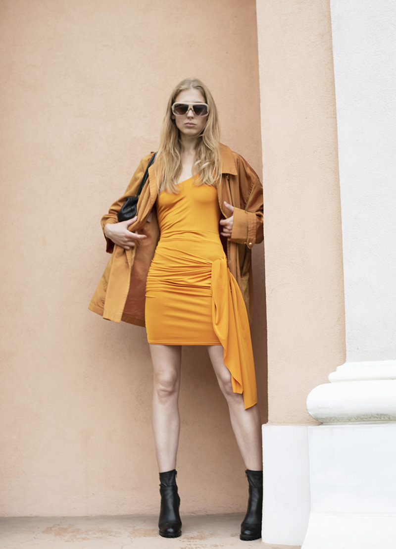 ivoblog -- orange tones-ootd 5