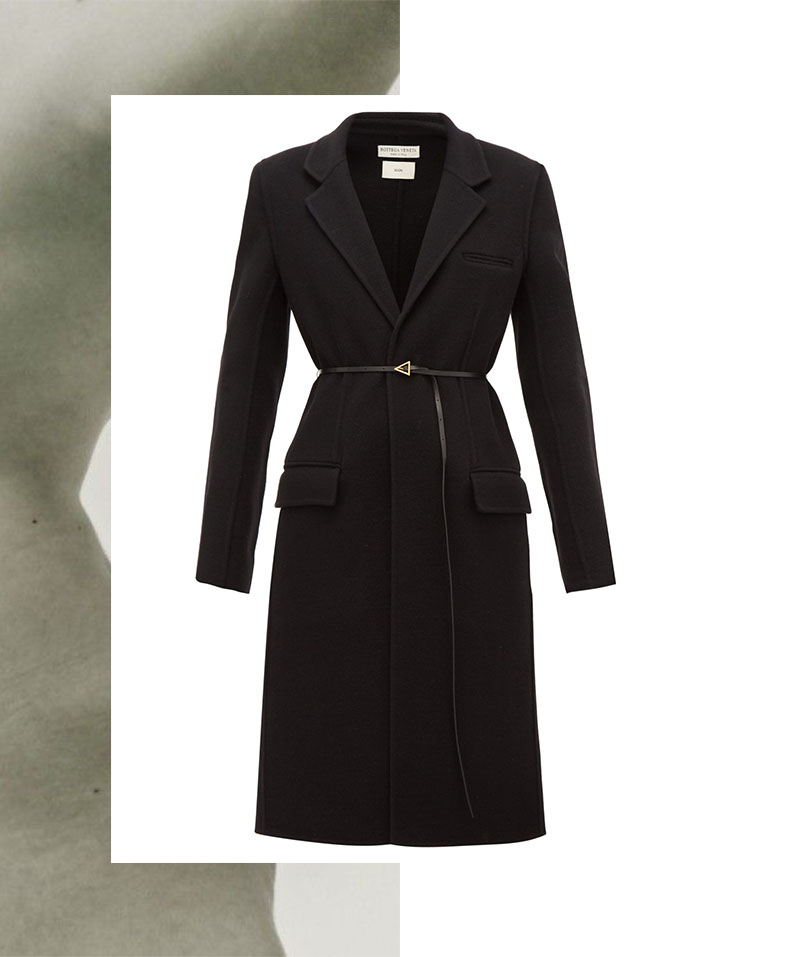 IVOBLOG --- black coat-wardrobe staples-bottega veneta