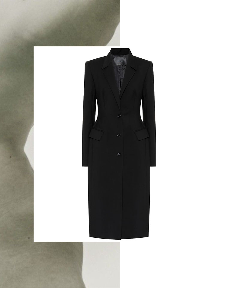 IVOBLOG --- black coat-wardrobe staples-thierry mugler